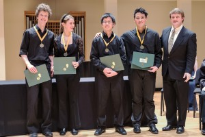 Winners of the 2014 SPCO YCMC competition